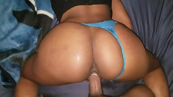 Panties Black Riding Amateur