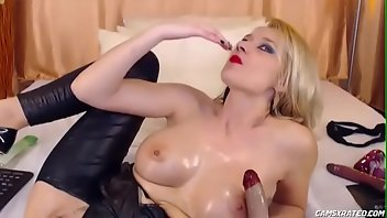 Fisting Anal Dildo Blonde