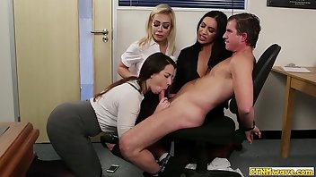 CFNM European Blowjob Handjob