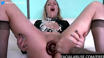 Humiliation Dildo Hardcore Blonde