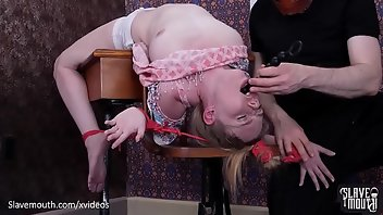 Humiliation Gagging Deepthroat BDSM