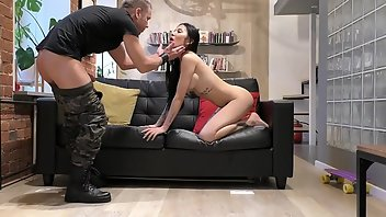 Military Teen Handjob Brunette