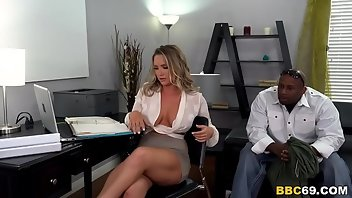 Boss Anal Interracial MILF