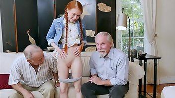 Squirt Compilation Teen Redhead Grandpa