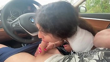 Hooker Cumshot Outdoor Handjob
