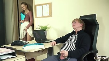 Grandpa Hardcore Boobs Handjob Fingering