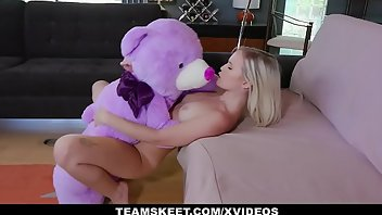 Midget Facial Teen Blonde