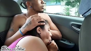 Condom Interracial Pornstar Blowjob