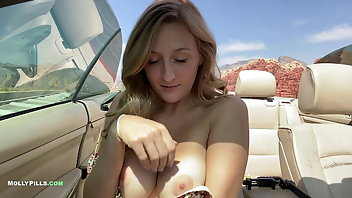 Taxi Blonde Outdoor Amateur