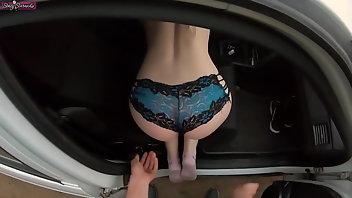 Car Hardcore Outdoor Creampie