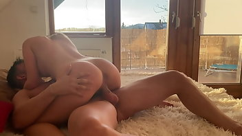 Muscle Hardcore Blonde Blowjob