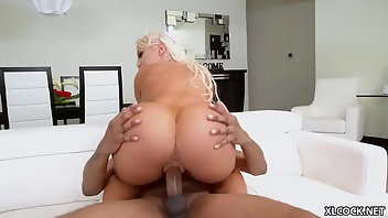 Halloween Blonde Interracial Shaved