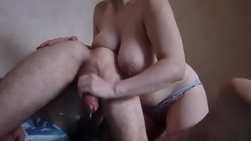 Huge Dildo Handjob Doggystyle Mistress