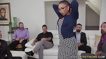 Glasses Cumshot Facial Black